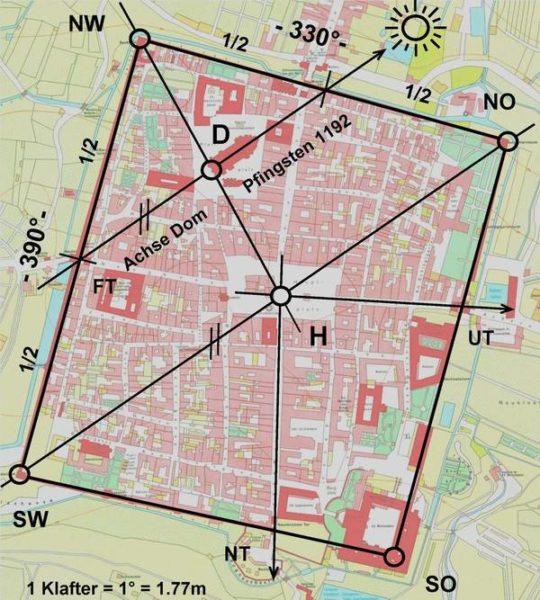 Wiener Neustadt, eine geplante und geomantisch ausgerichtete Stadt?